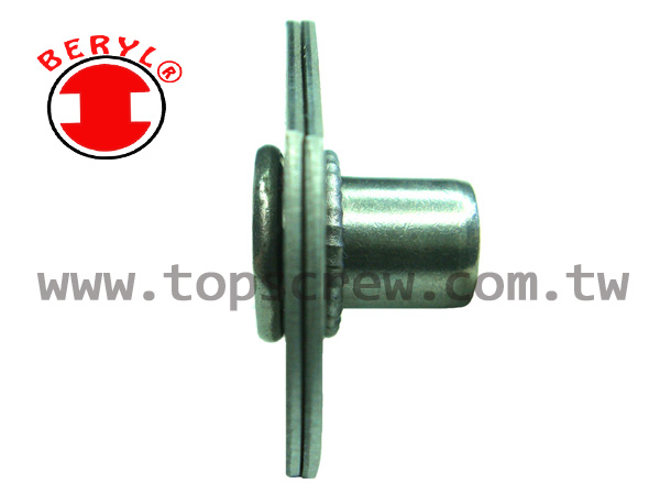 serration under head,blind rivet nut,nut,rivet nut,top screw,serration under head,Wedge Under Head,Knurled Rivet Nut,splined rivet nut,fasteners,metal forging,rivet nut manufactory,manufacture