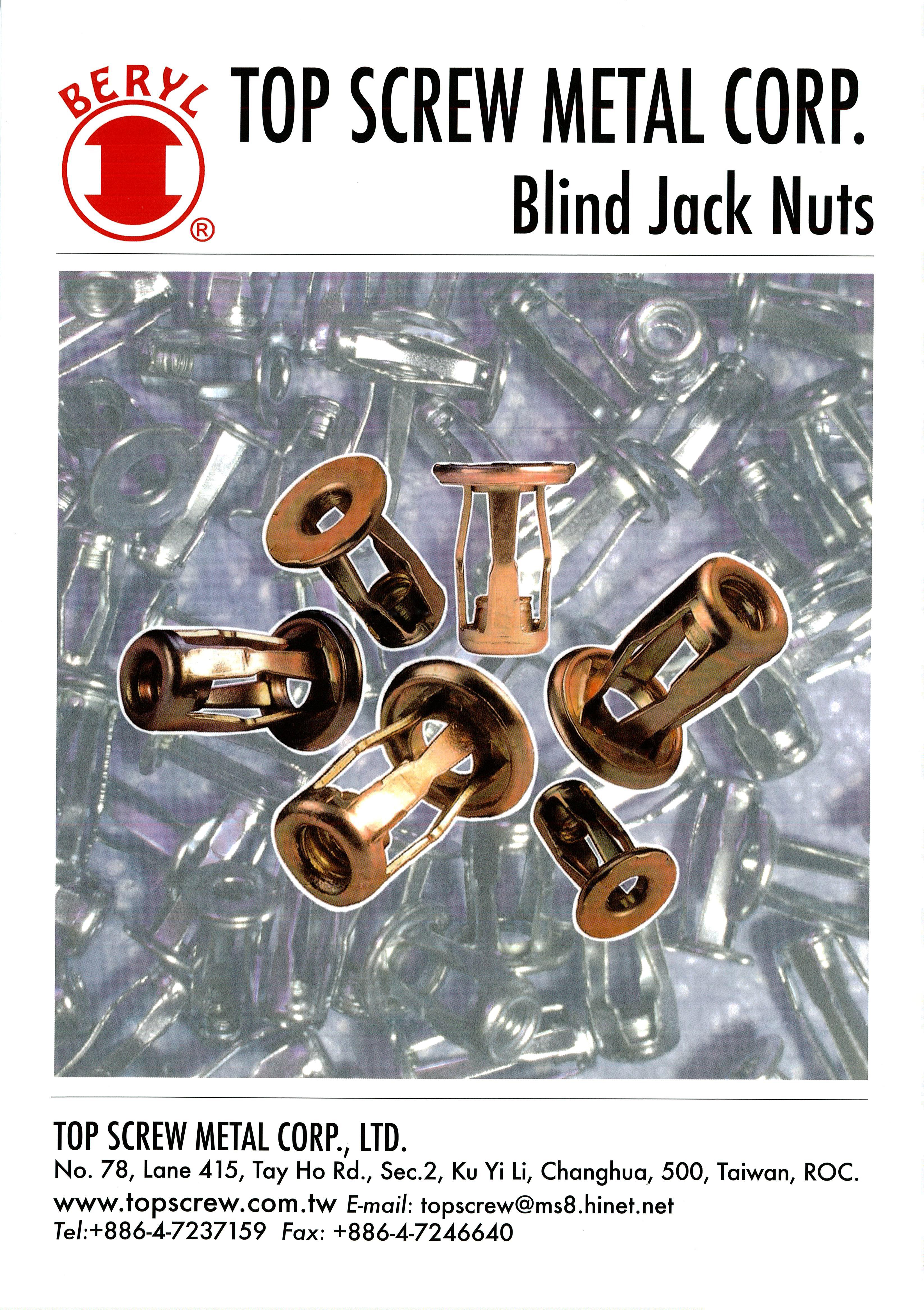 blind jack nut,jack nut,steel jack nut,stainless steel jack nut,steel blind jack nut,stainless blind jack nut,fasteners,metal forging,jack nut manufactory,manufacture