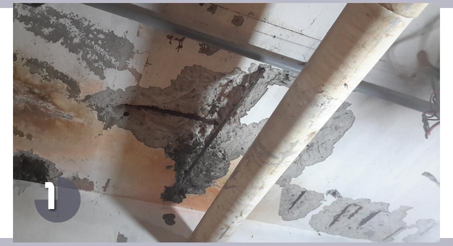 鋼筋外露修繕,PU防水工程,EPOXY施作